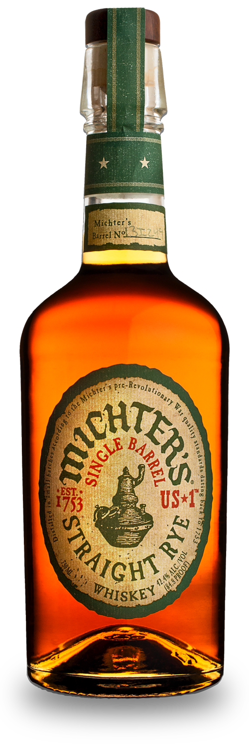 Michter's US1 Straight Rye Single Barrel Whiskey 750ml