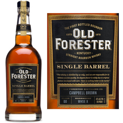 Old Forester Straight Bourbon 750ml