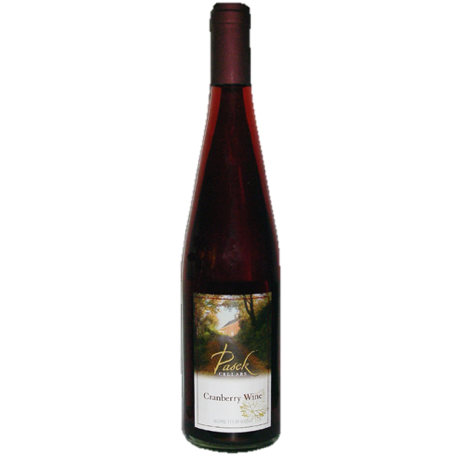 Pasek cellars cranberry wine