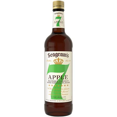 Seagrams Apple Blended Whiskey 750 ML