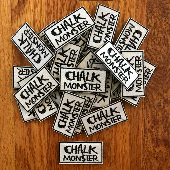 Chalk Monster Patches