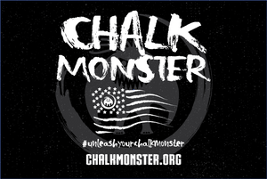 2'x3' Chalk Monster Banner