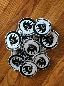 Chalk Monster Patches (round)