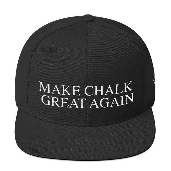 Make Chalk Great Again Snapback Hat