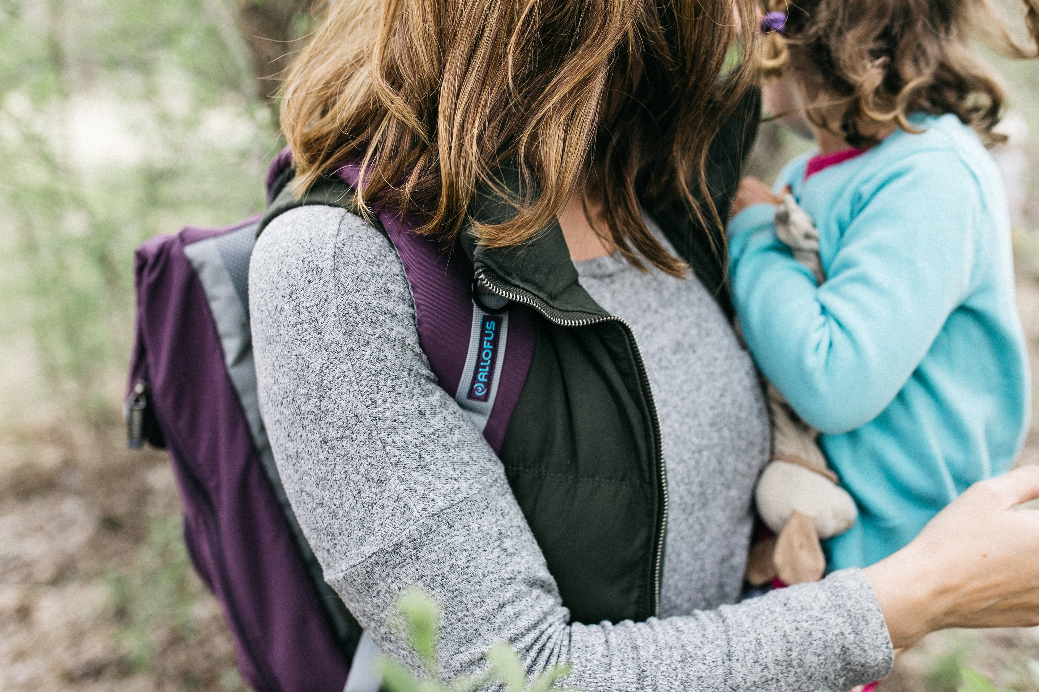 Mothers Day - All of Us Travel Cruiser Backpack mother and daughter in nature
