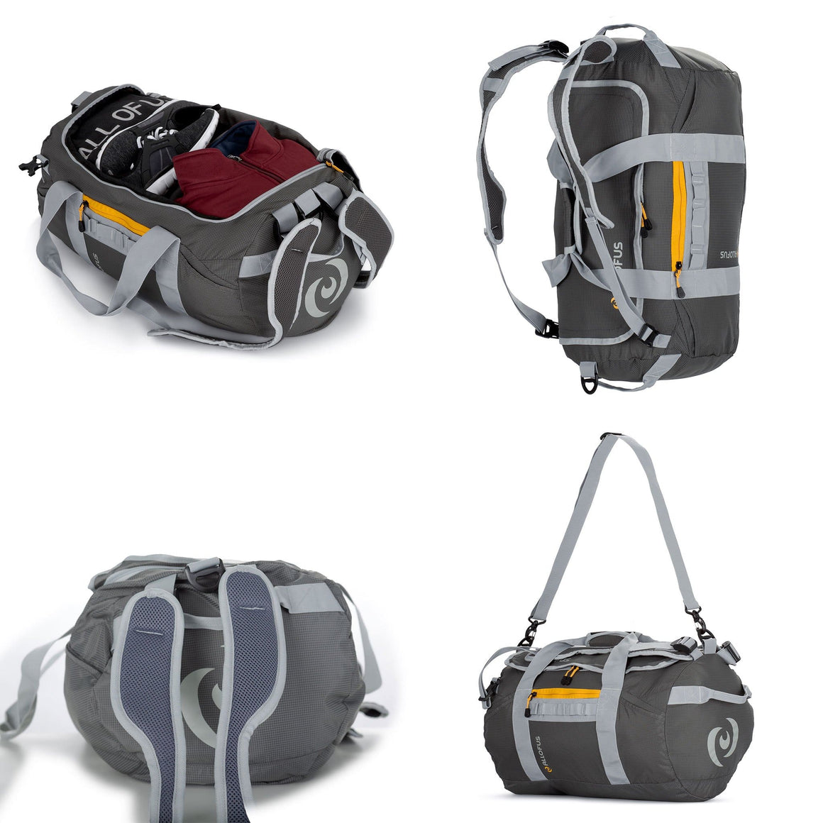 "Front of 21"" Ultralight Packable Sport Duffel"