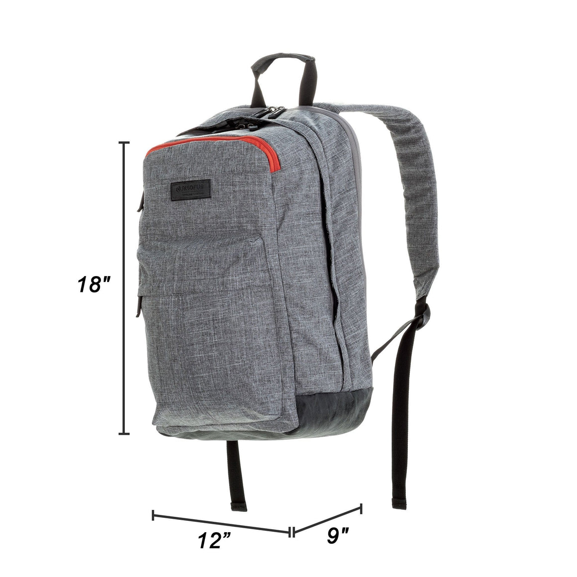 All of Us Supernova Lightweight Unisex Laptop Backpack for Work, Travel and School - Heather Grey