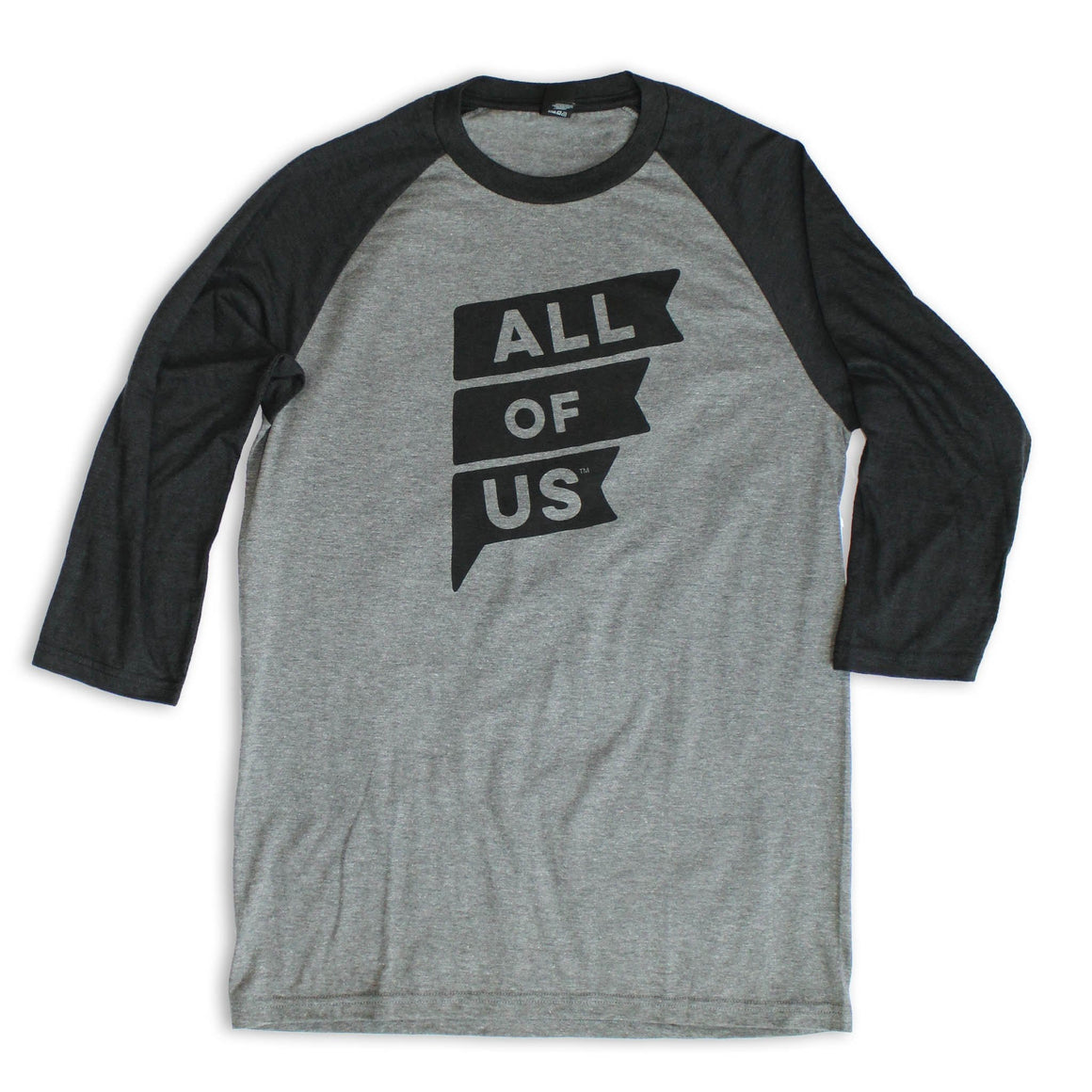 Men's All of Us Tri Blend ¾ Sleeve Raglan Jersey
