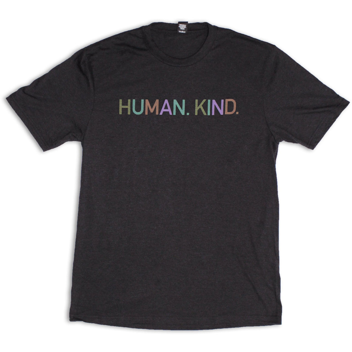 Men's Black Frost Crew Tee with Human.Kind.