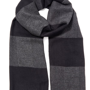 Stripey Fashionable Winter Scarf