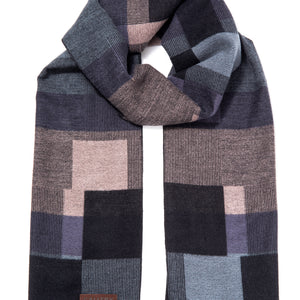 Geometric Fashionable Winter Scarf