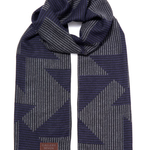 Abstract Fashionable Winter Scarf