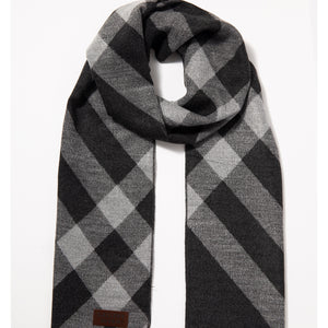Diagonal Stroke Fashionable Winter Scarf