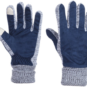 Royal Suede Leather Gloves