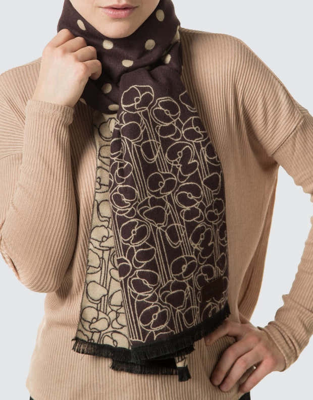 Winding Sphere Fashion Scarf 1