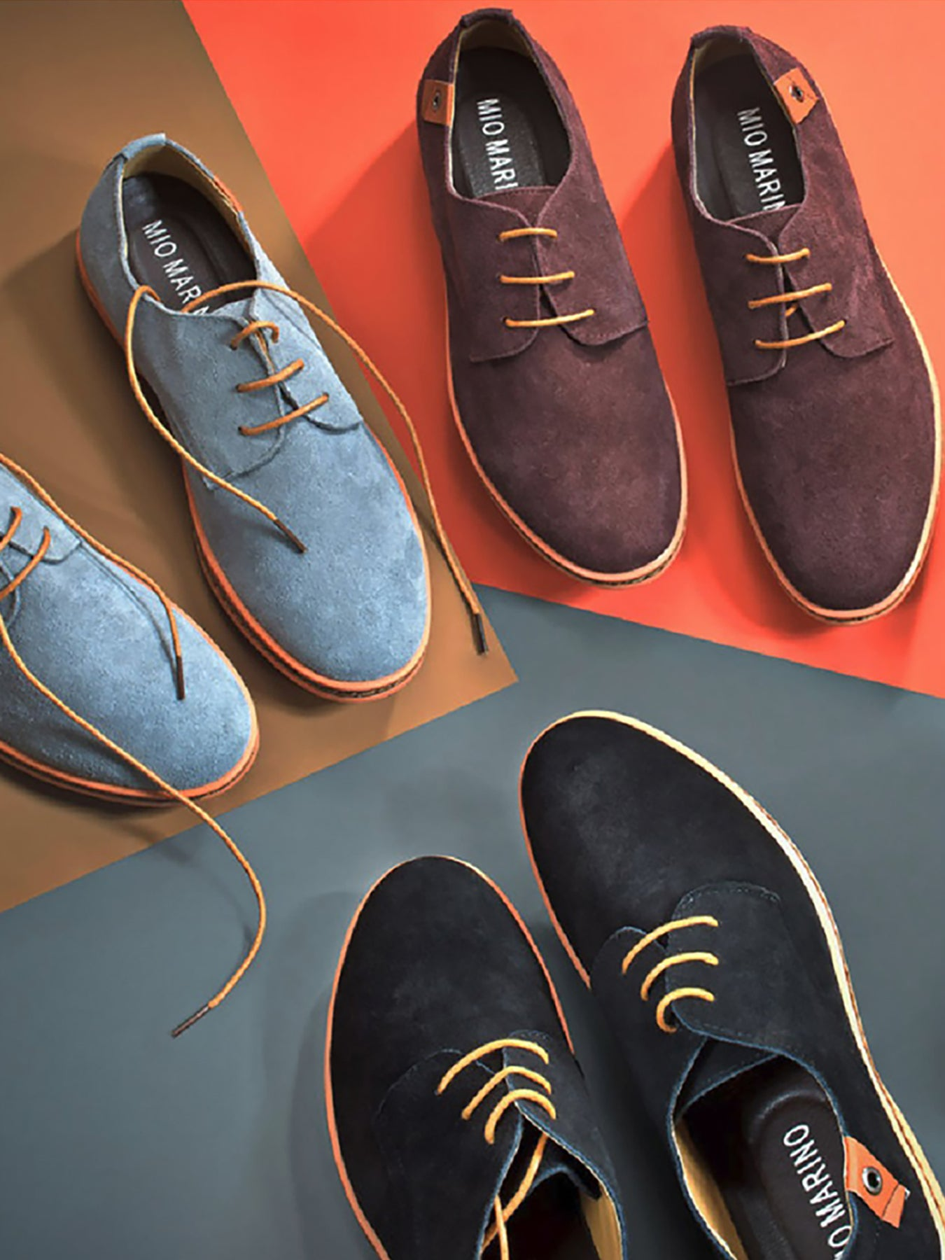 Classic Suede Oxford Shoes– Mio Marino
