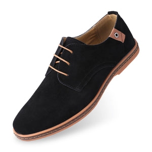 Classic Suede Oxford Shoes
