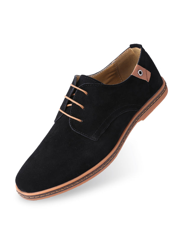 Classic Suede Oxford Shoes 1