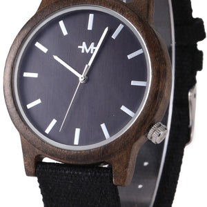 Webbed Brolly Wooden Wrist Watch