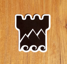 Santa Barbara Stoked Logo Sticker