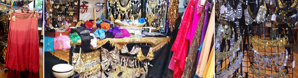 Consignment Clothing at Unicorn Belly Dance Supplies