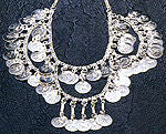 Silver or Gold Necklaces ~ Three Accent Drapes ~ Adjustable!