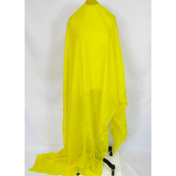 Yellow Habotai Rectangular Silk Veil