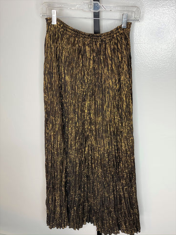 Skirt ~ Black and gold broomstick