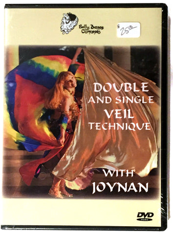 Double and Single Veil Technique with Joynan - DVD Front
