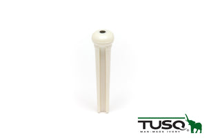TUSQ Traditional Bridge Pins White With 2mm Blk Dot - Graph Tech Guitar Labs Ltd.