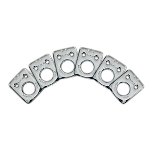 InvisoMatch Plates for Ratio Tuners, Fender Style 2 Pin Hole (set of 6) (Select Finish) - Graph Tech Guitar Labs Ltd.