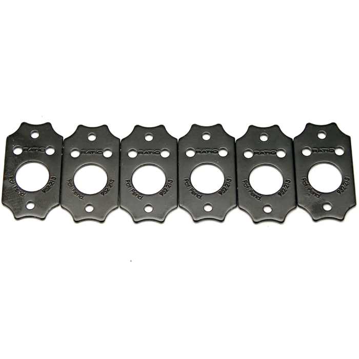 InvisoMatch Plate for Ratio Tuners, Gibson Style Two Screw hole (set of 6) - Graph Tech Guitar Labs Ltd.