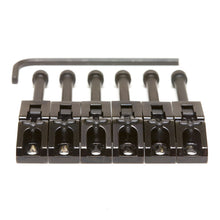 String Saver  Floyd Rose Style Saddles -  Black 6 String