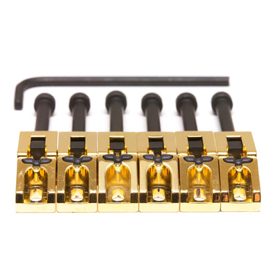 String Saver Floyd Rose Style Saddles -  Gold 6 String - Graph Tech Guitar Labs Ltd.