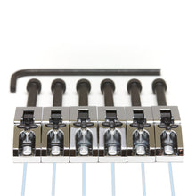 ghost Floyd Rose Saddles Chrome 6 String