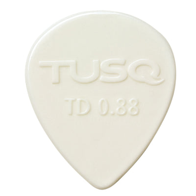 TUSQ  Tear Drop Picks 6 Pack  Select one of 3 tones  and one of  3 gauges