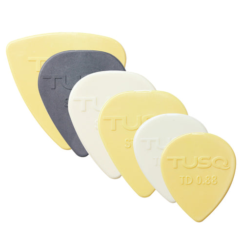 TUSQ Assorted Standard Picks mixed 6 Pack - Graph Tech Guitar Labs Ltd.
