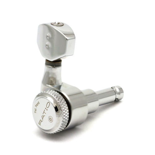 Ratio Electric Locking Machine Heads 6 in-line