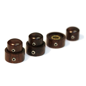Tamarind Wood Knob Stacked Set of 3 - Graph Tech Guitar Labs Ltd.