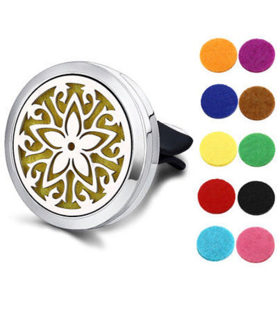 Aromatherapy Stainless Steel Car Clip