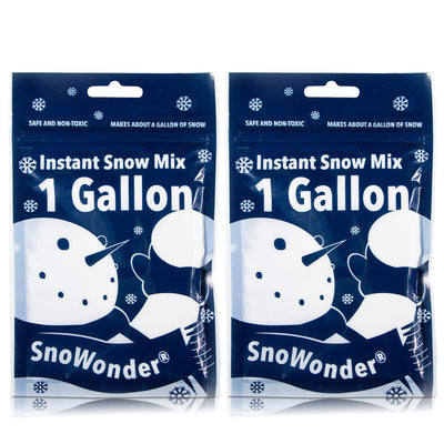 SnoWonder Instant Snow Fake Artificial Snow - Great for Making Cloud Slime