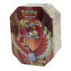 Pokemon TCG Ho-Oh GX Tin Mysterious Powers Collector's Tin Card Game