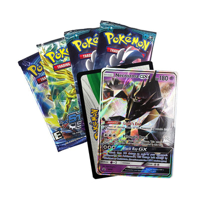 Pokemon TCG Necrozma GX Tin Mysterious Powers Collector's Tin Card Game