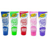 Crayola Bathtub Fingerpaint 5 Color Variety Pack, 3 Ounce Tubes (Bluetiful Blue, Screamin' Green, Radical Red, Flamingo Pink, Royal Purple)