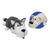 Husky Dog to Polar Bear Flipazoo Stuffed Animal - New With Tags