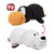 White Seal to Penguin Flipazoo Stuffed Animal - New With Tags
