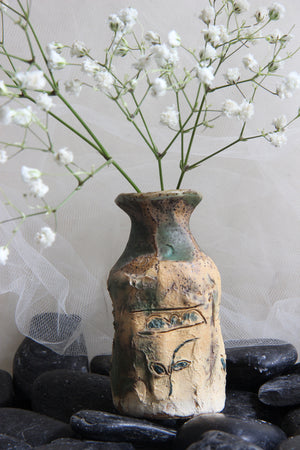 extraordinary-carved-flower-small-squared-handmade-ceramic-bottle-vase