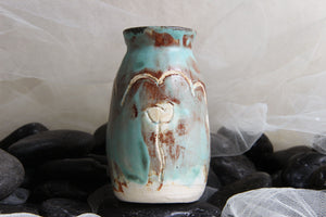 lovely-one-of-a-kind-carved-flower-handmade-pottery-small-vase