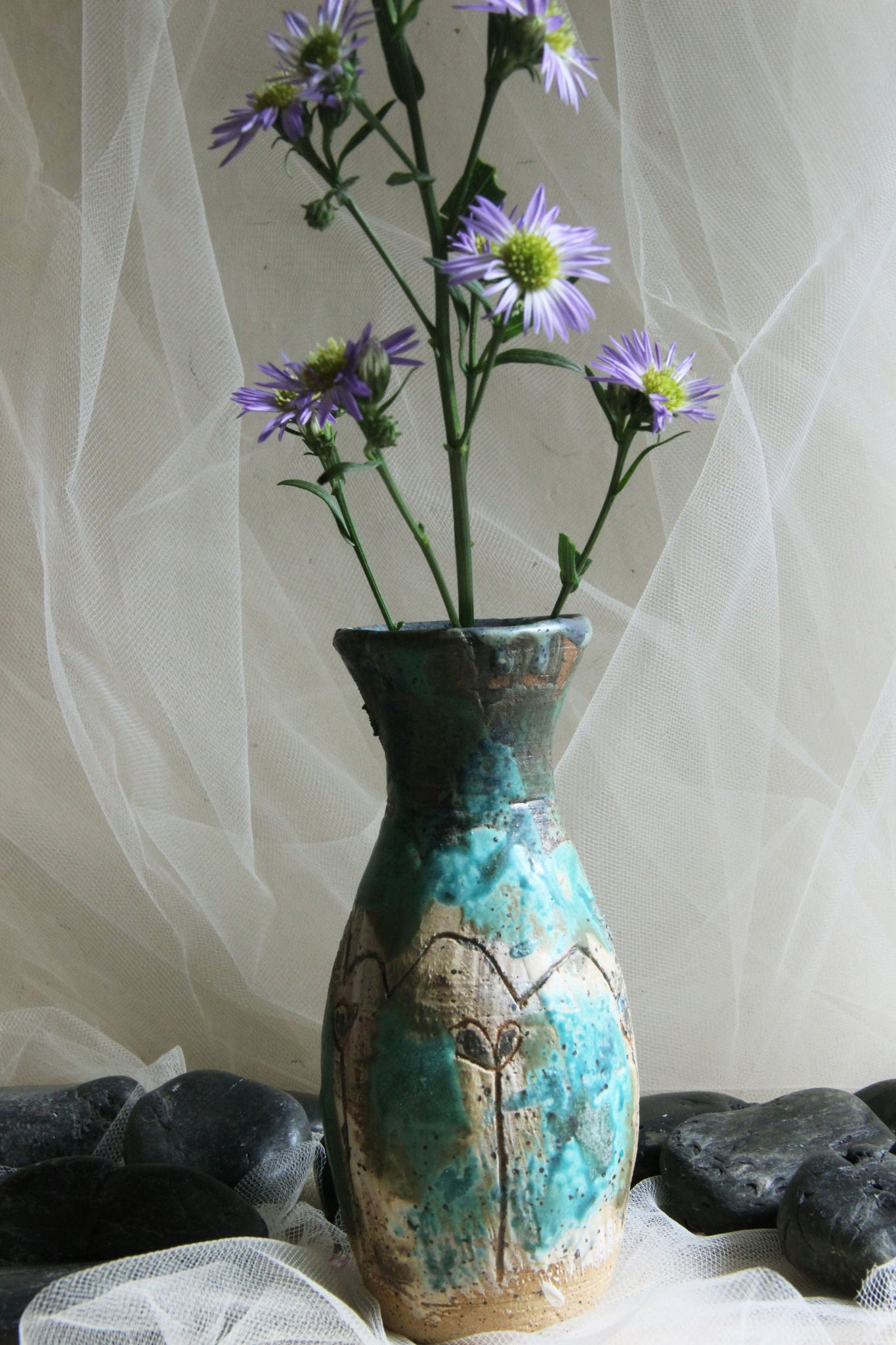 original-handmade-small-carved-pottery-vase