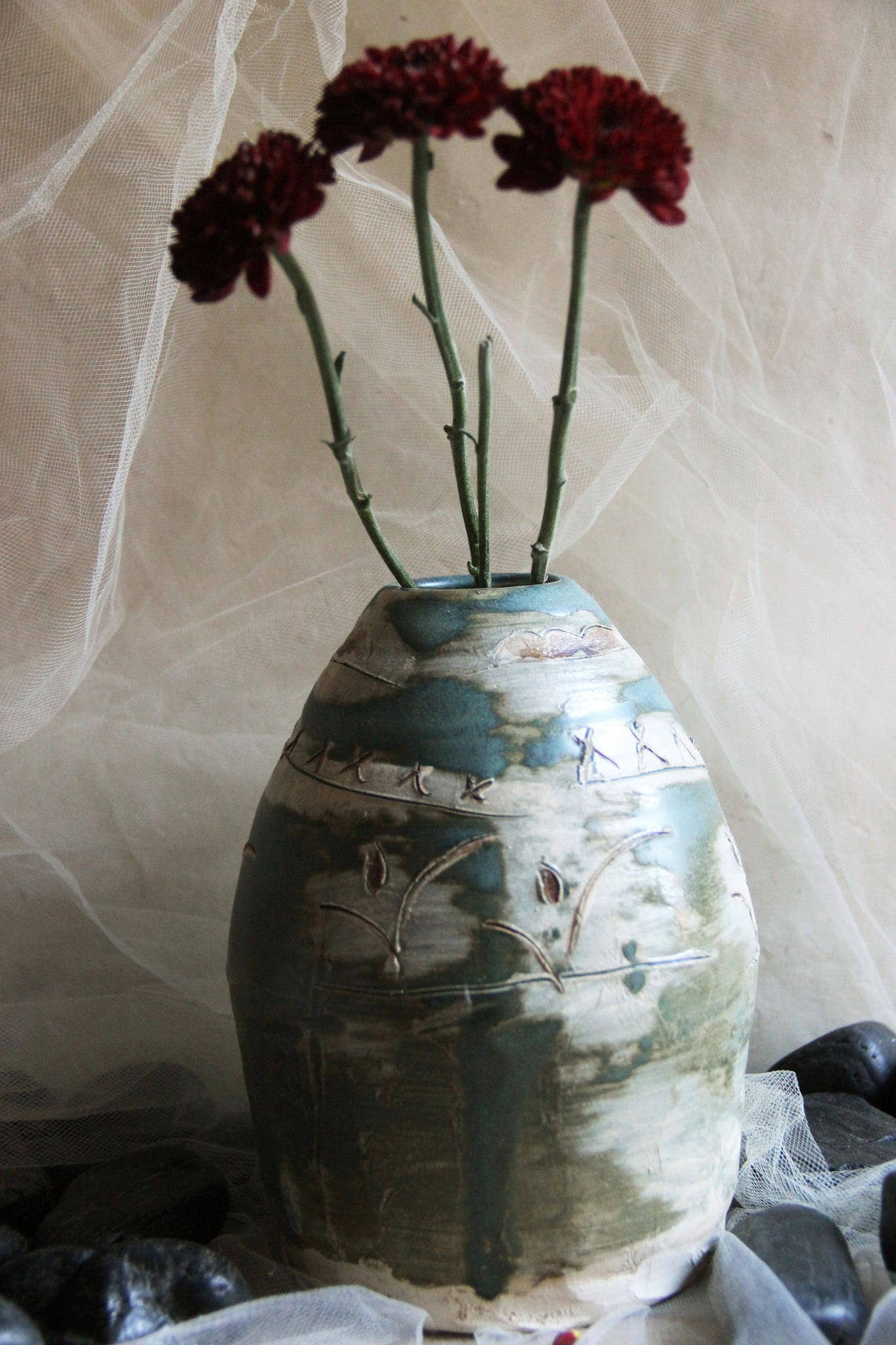 one-of-a-kind-handmade-carved-ceramic-stoneware-vase